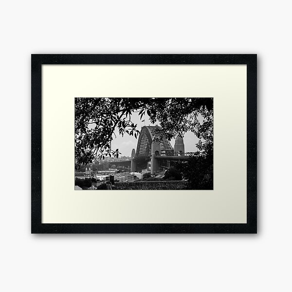 The Bridge from the Observatory  Framed Art Print