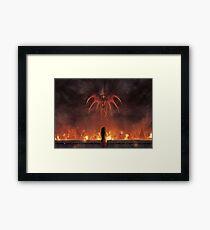 Alexandria Burning  Framed Print