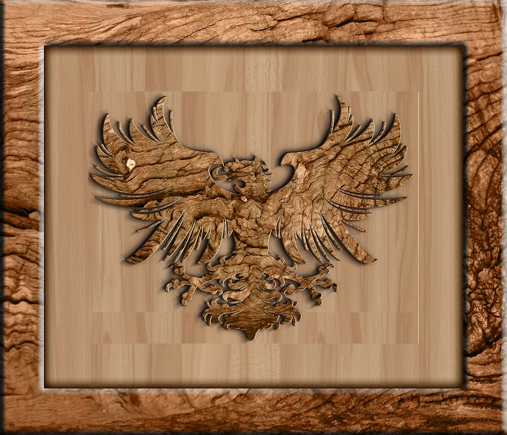Heraldic Eagle by rcurtiss000