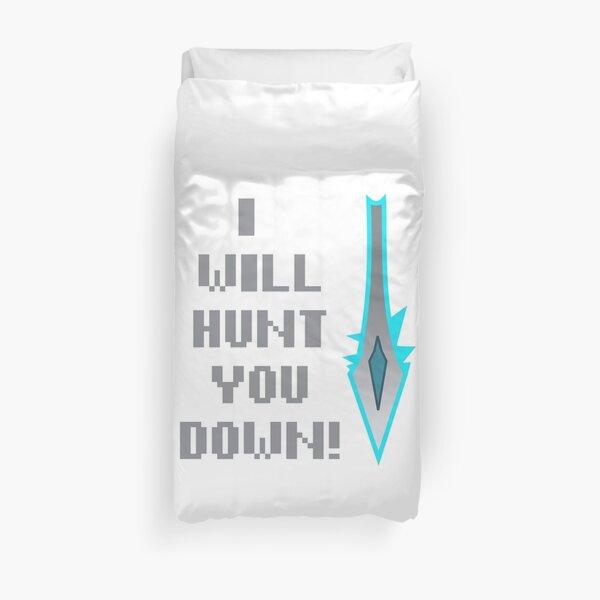 Hearthstone Hunter I Will Hunt You Down Duvet Cover