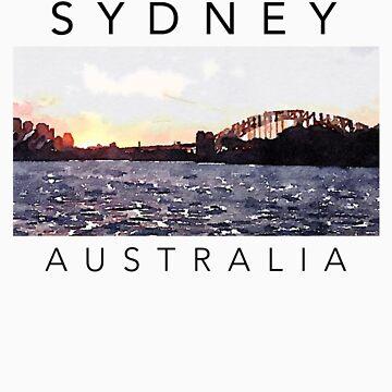 Sydney Australia T-Shirt by ogcostanza