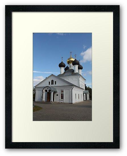 Church in the village Zavidovo by mrivserg