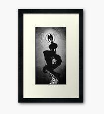 _bad wolf Framed Print