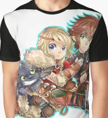 Httyd2 - Don`t touch my Hiccup Graphic T-Shirt