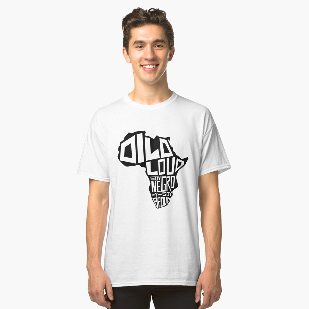DILO LOUD: Africa Third Culture Series Classic T-Shirt