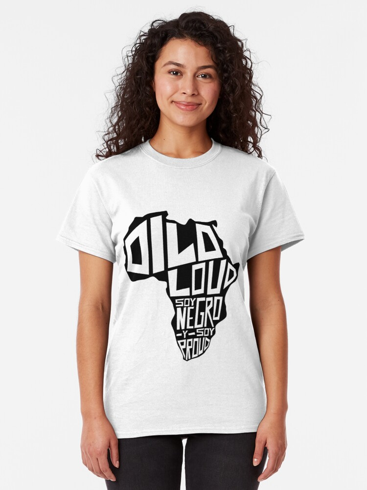 Alternate view of DILO LOUD: Africa Third Culture Series Classic T-Shirt