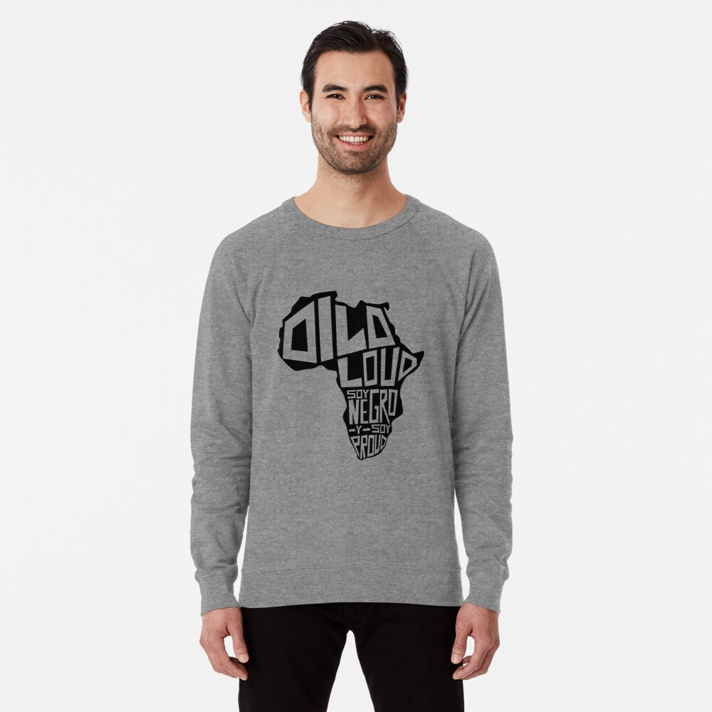 DILO LOUD: Africa Third Culture Series Lightweight Sweatshirt