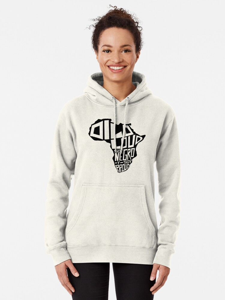 Alternate view of DILO LOUD: Africa Third Culture Series Pullover Hoodie