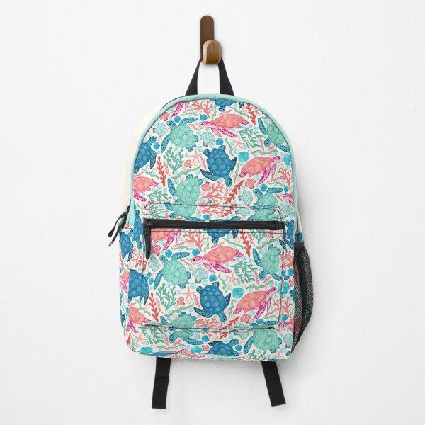 Paradise Beach Turtles Backpack