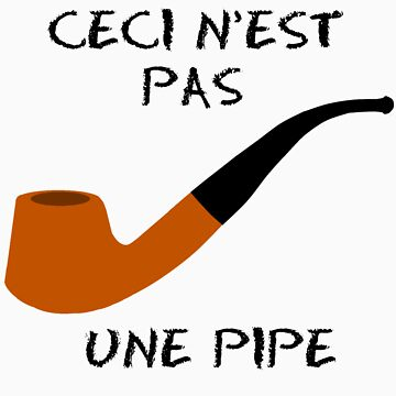 Ceci N'est Pas Une Pipe - Hazel Grace Lancaster's TShirt by brightestwitch