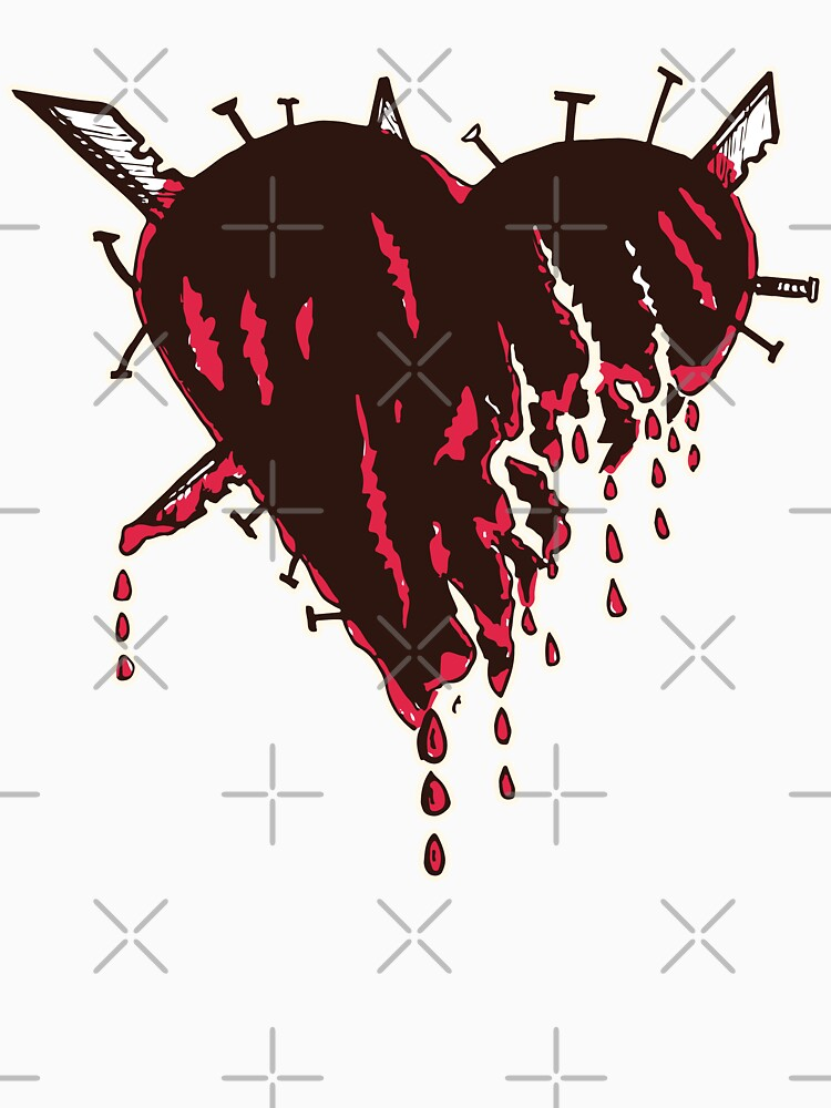 Emo Blood Heart by CarbonClothing