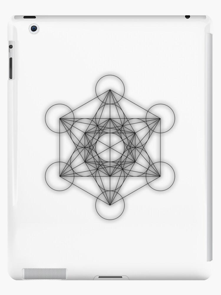 Metatron cube - black by JamesNicholls