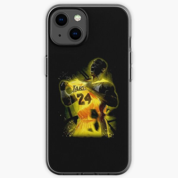 Bryant Lakers 24 champions Coque souple iPhone