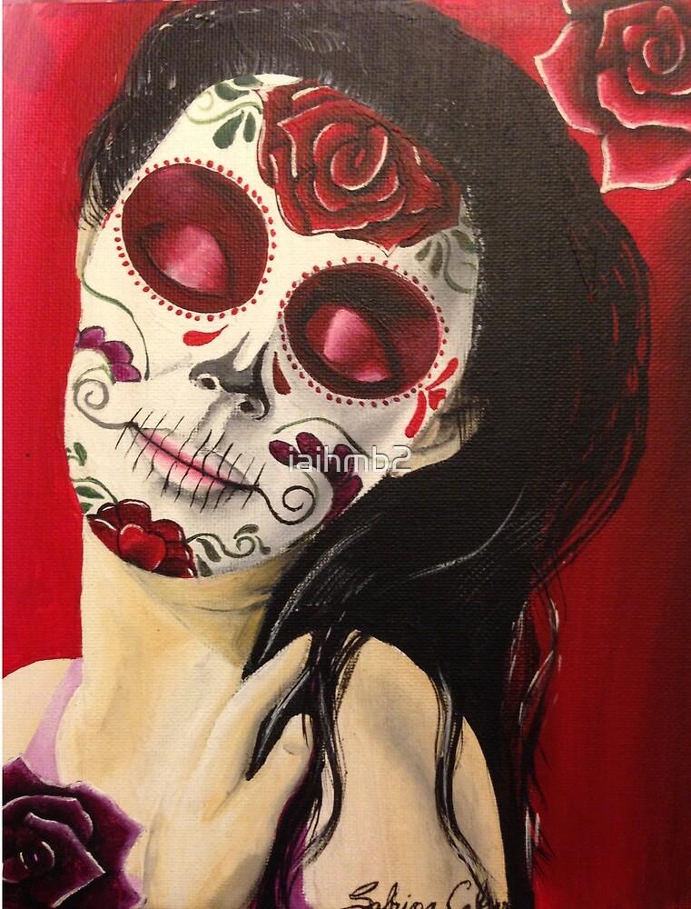 Sugar Skull in Love by iaihmb2