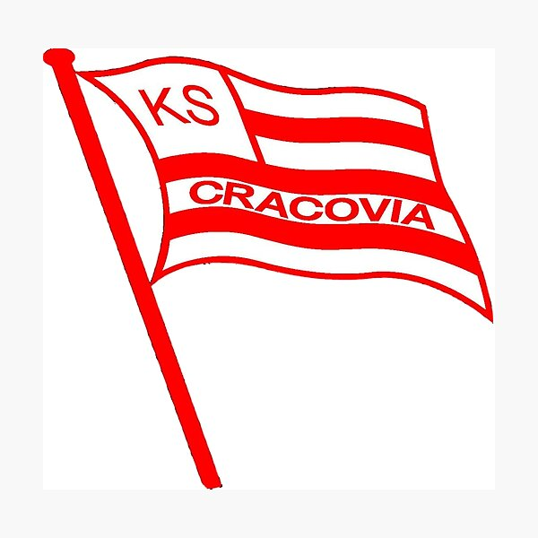 K S Cracovia  face masks,stickers,t shirts,pillows etc Photographic Print