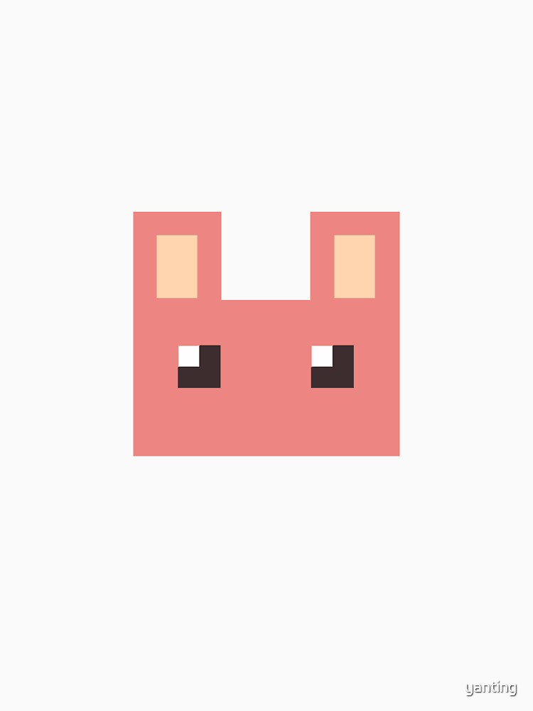 Pixel Pink Bunny by yanting