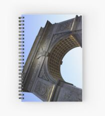 Arch in Washington Square Park Spiral Notebook