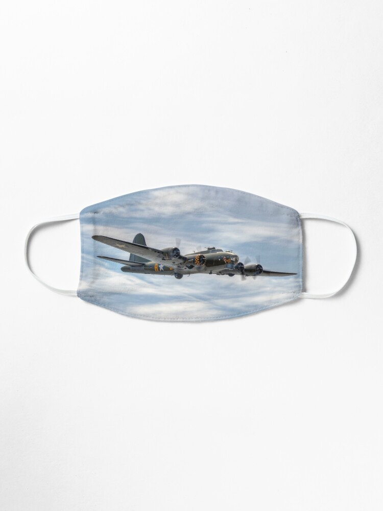 Alternate view of B-17 Flying Fortress Mask