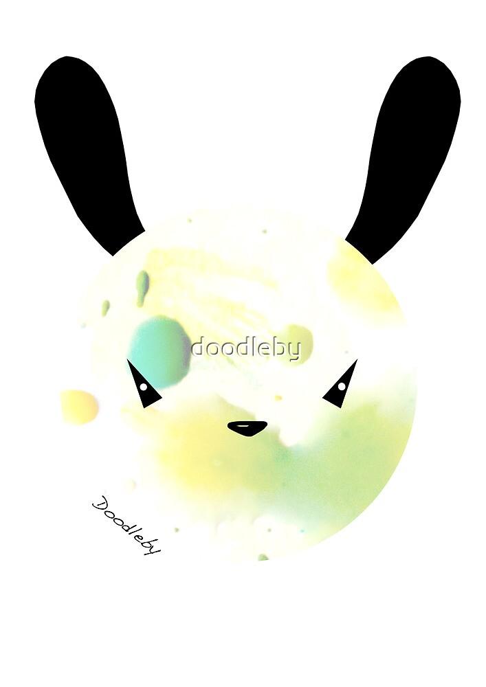 Bunny Splat by doodleby