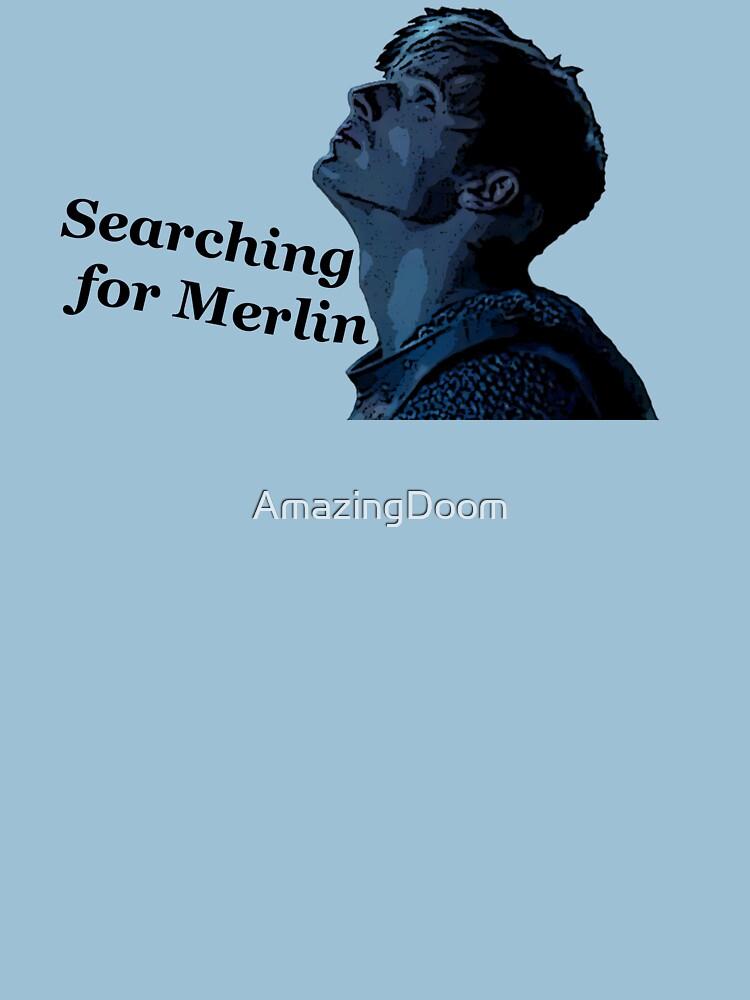 Arthur Searching (black) by AmazingDoom