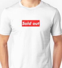 "Supreme ""Sold out"" T-Shirt"