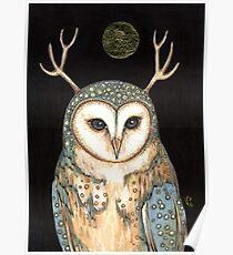 Owl Spirit Poster