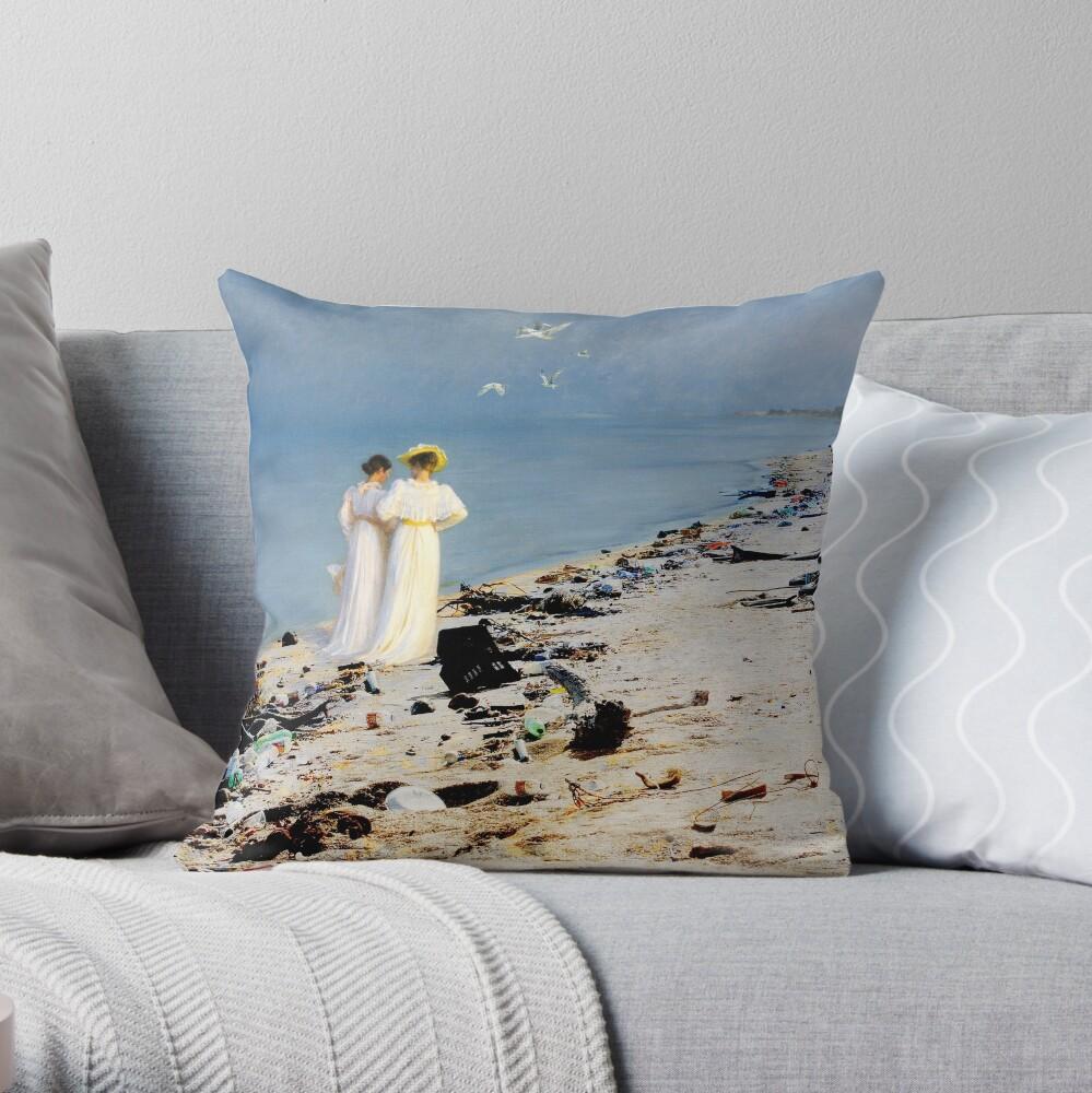 Skagen Throw Pillow
