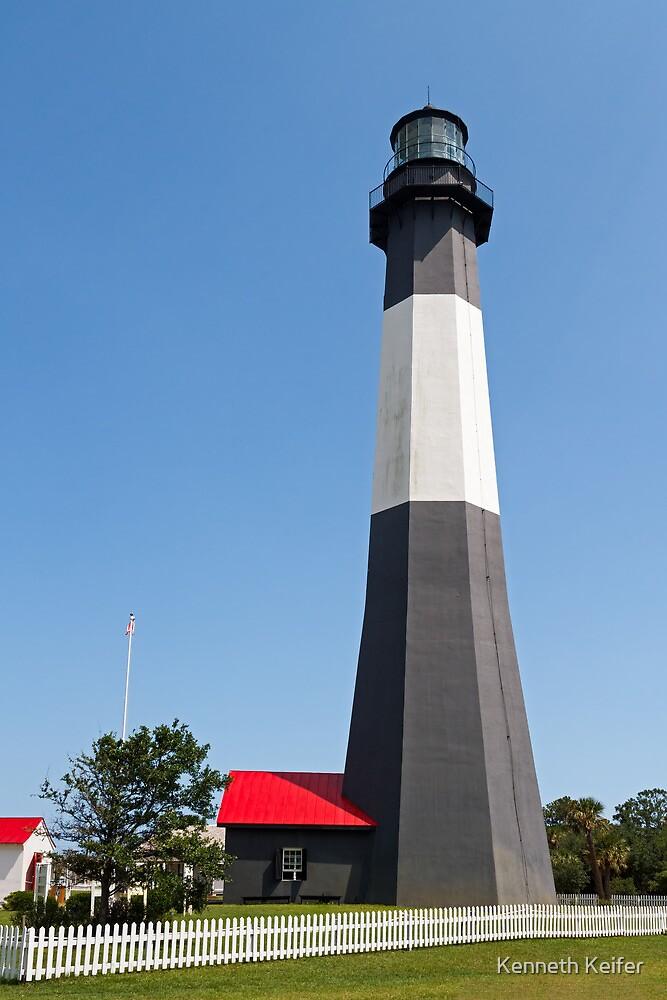 Tybee Island Lighthouse by Kenneth Keifer