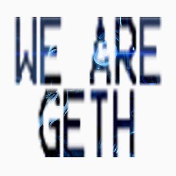 Legion - We are Geth by spidey8itch