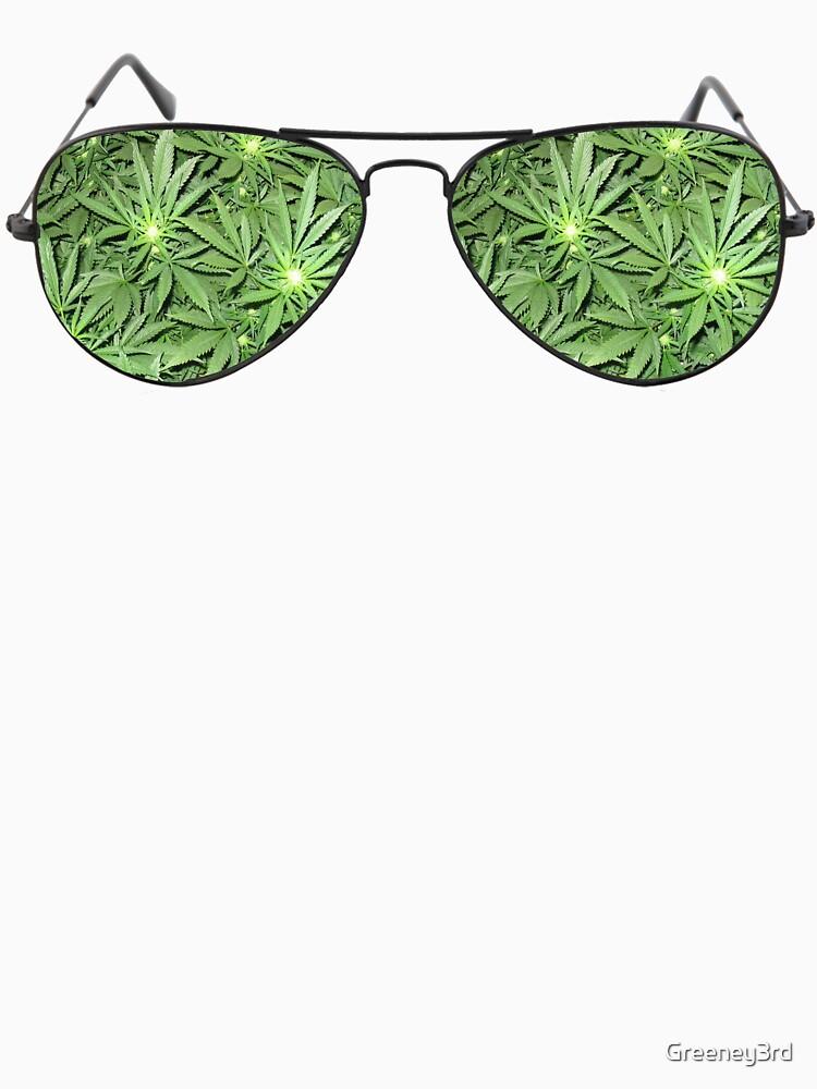 Green Aviators. by Greeney3rd