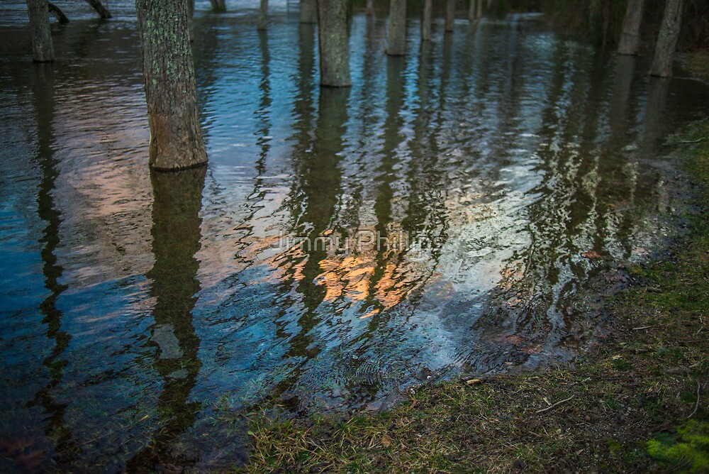 Colorful Reflections on the Clinch by Jimmy Phillips