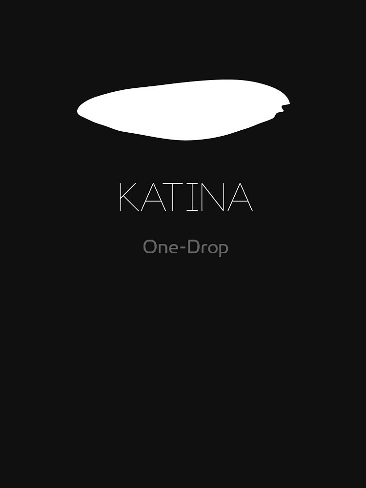 Katina Orca Eyepatch T-Shirt Version 2 by One-Drop