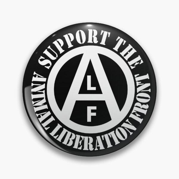 Apoya el frente de liberación animal Chapa