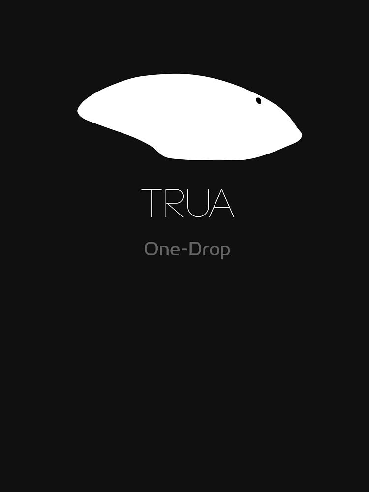 Trua Orca Eyepatch T-Shirt Version 2 by One-Drop