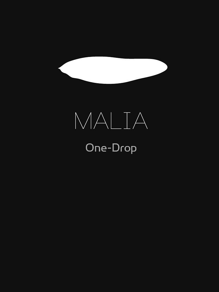 Malia Orca Eyepatch T-Shirt Version 2 by One-Drop