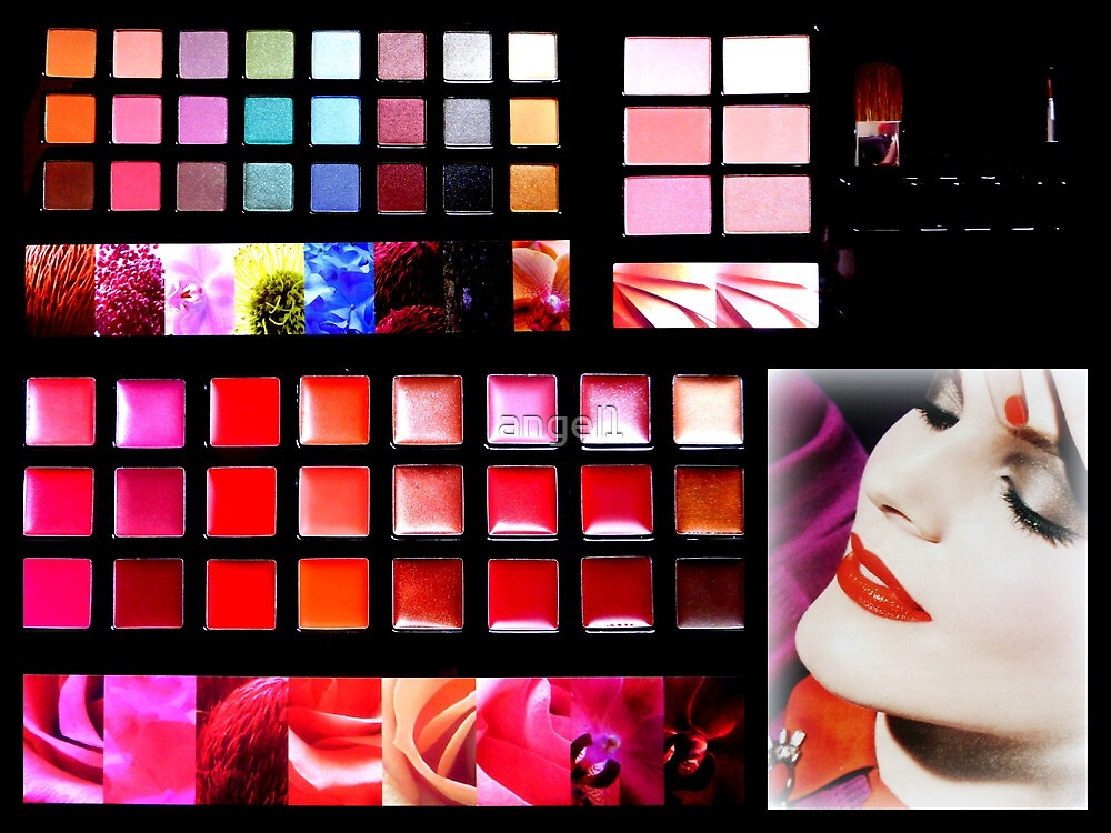 Make-up palette by ©The Creative  Minds
