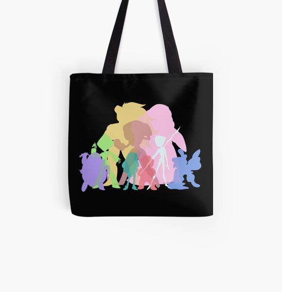 Gems Colors All Over Print Tote Bag