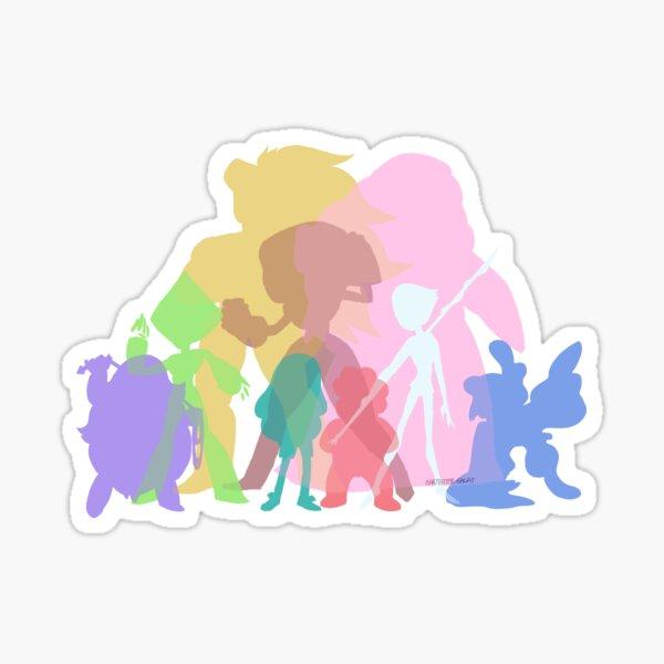 Gems Colors Sticker