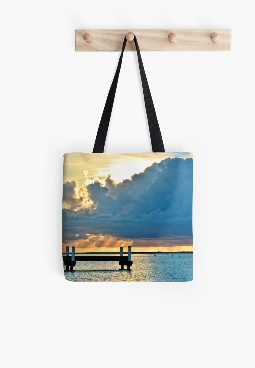 Pier at Sunset on Grace Bay by Amy McDaniel