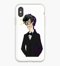 French Waiter Sherlock from The Empty Hearse iPhone Case
