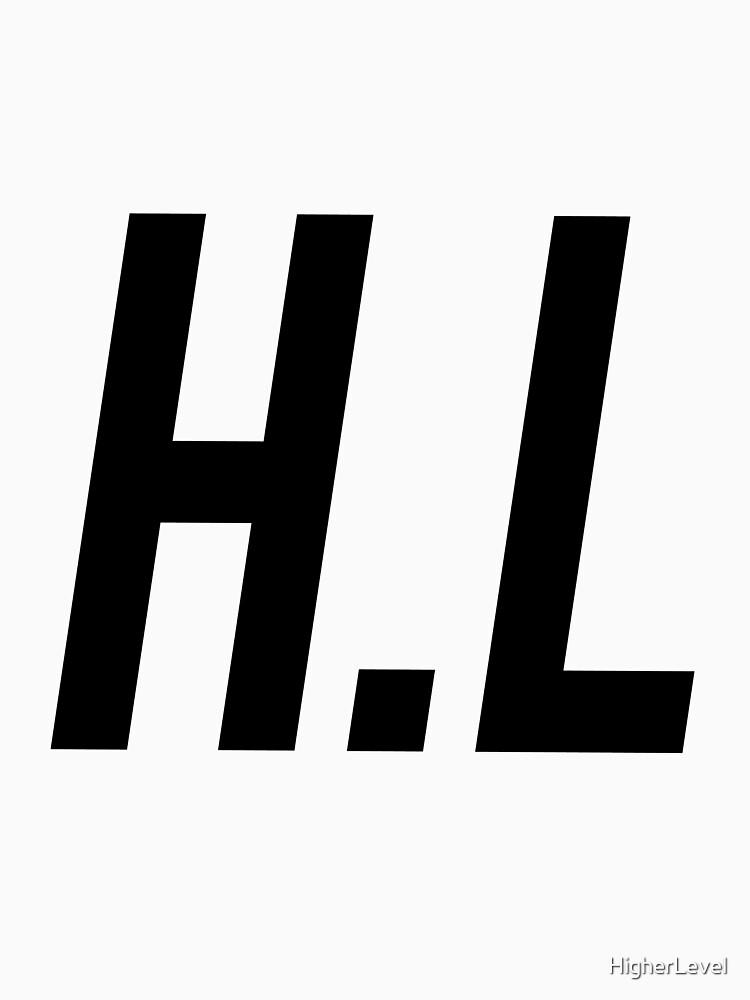 H.L logo BLACK by HigherLevel