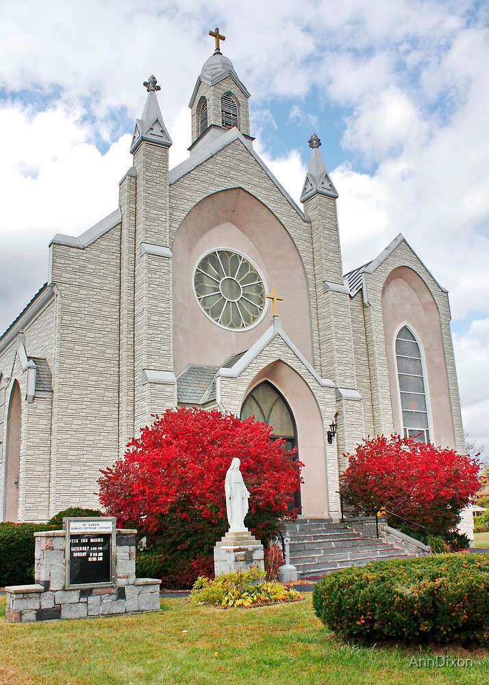 St. Joseph Roman Catholic Church USA by AnnDixon