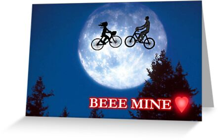 Beee Mine Valentine Card by Blackbird76