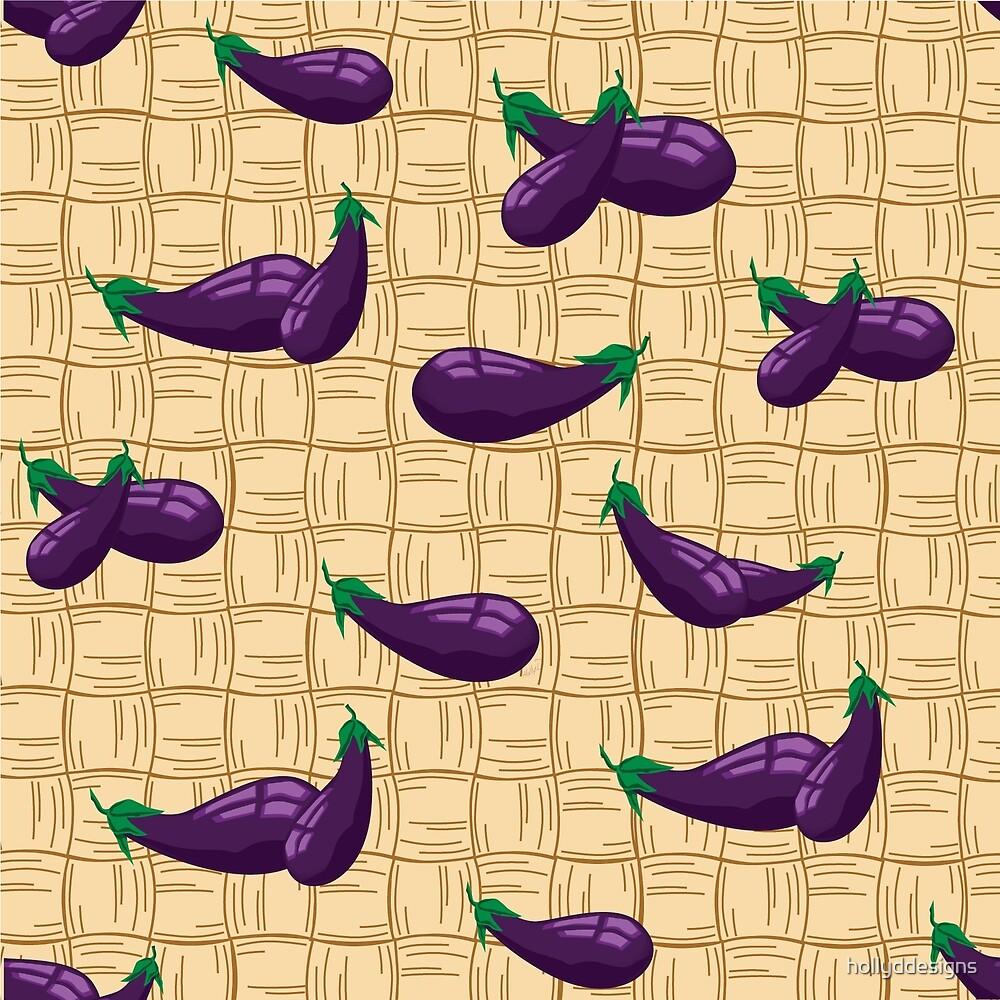 Eggplant by hollyddesigns