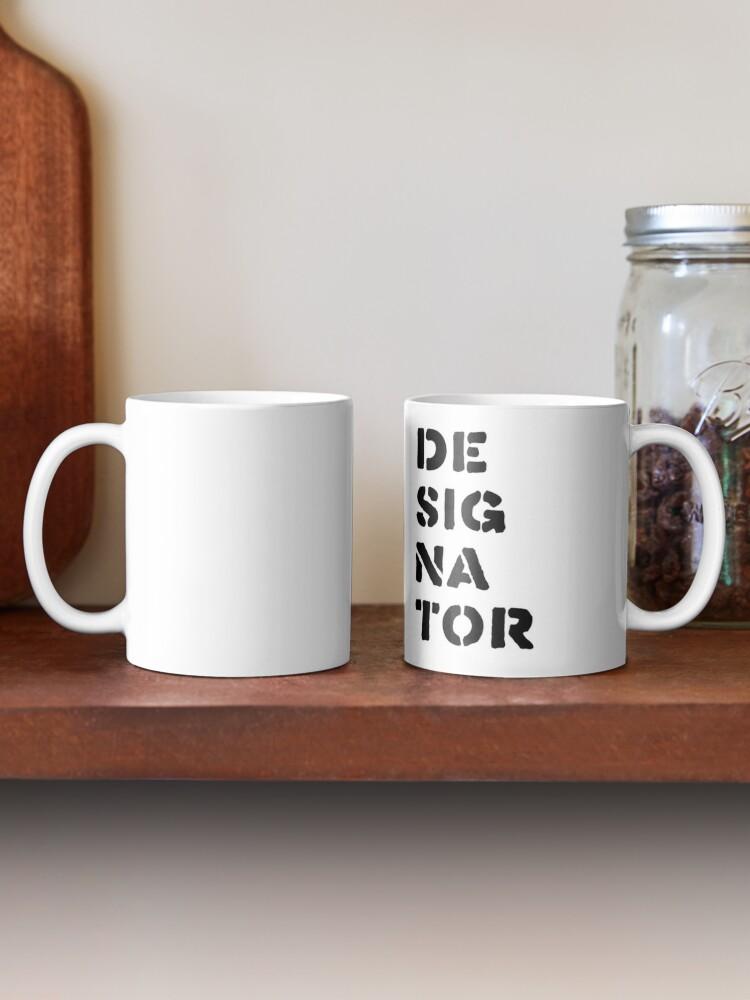 Alternate view of Designator Mug
