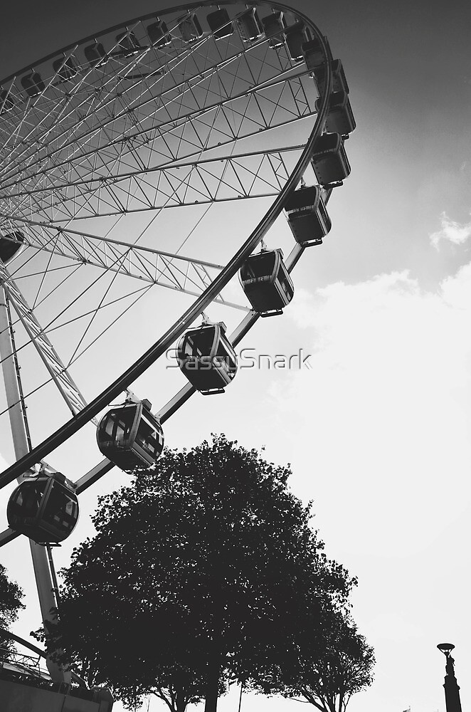 Plymouth ferris wheel by SassySnark