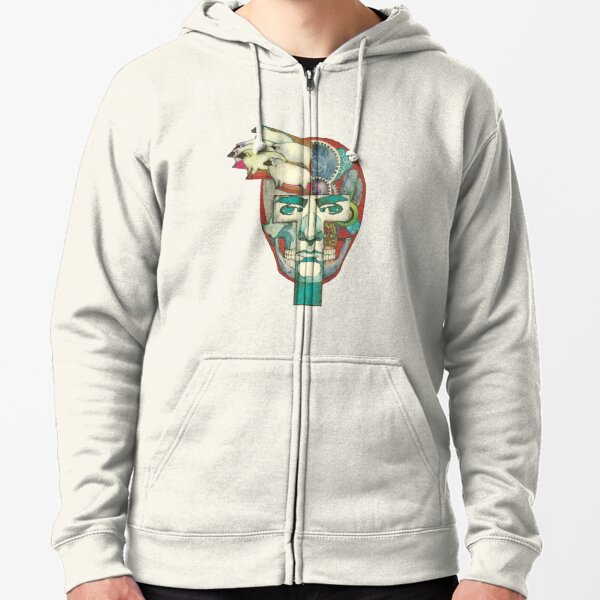 Do Androids Dream of Electric Sheep? Zipped Hoodie