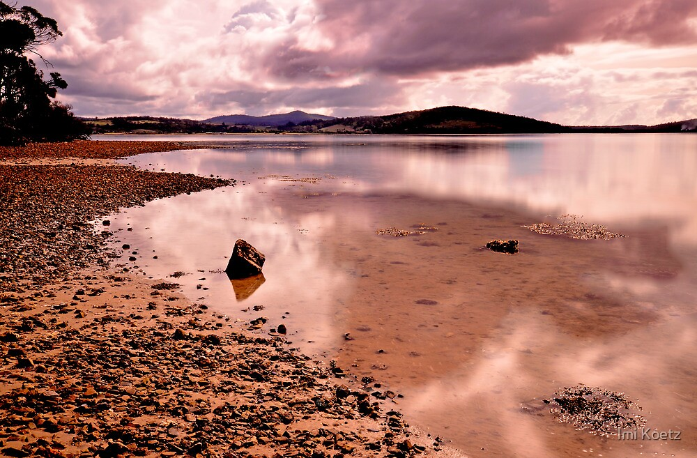 Bay of Fires  -   Reflection by Imi Koetz