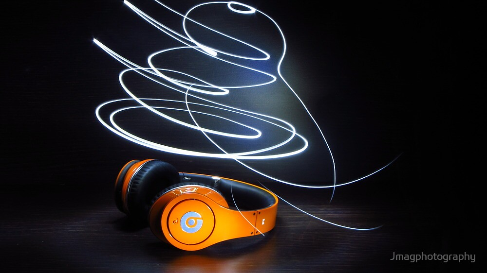Beats by dre, light painting  by Jmagphotography
