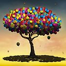 Árvore de Balões. by Marcel Caram